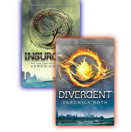 Divergent and Insurgent by Veronica Roth