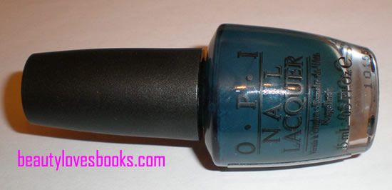 OPI Ski teal we drop
