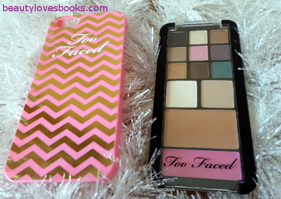 Too faced Jingle All The Way palette iPhone case