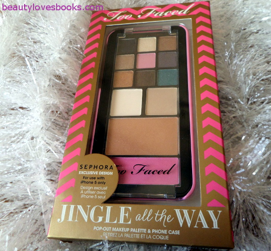 Too Faced Jingle All The Way palette - the iPhone palette