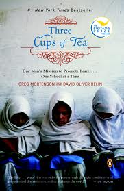 Three cups of tea book