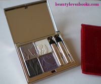 Clarins eye quartet eyeshadow palette