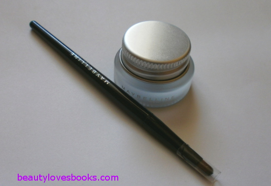 maybelline eyestudio lasting drama gel eyeliner in 08 black gold