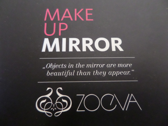 zoeva mirror writting