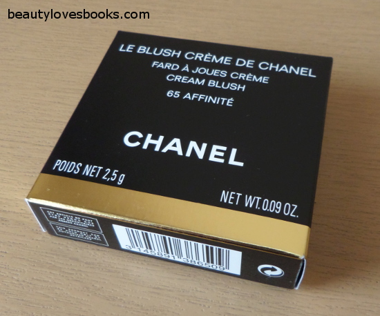 chanel cream blush affinite 65