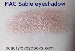 MAC Sable swatch