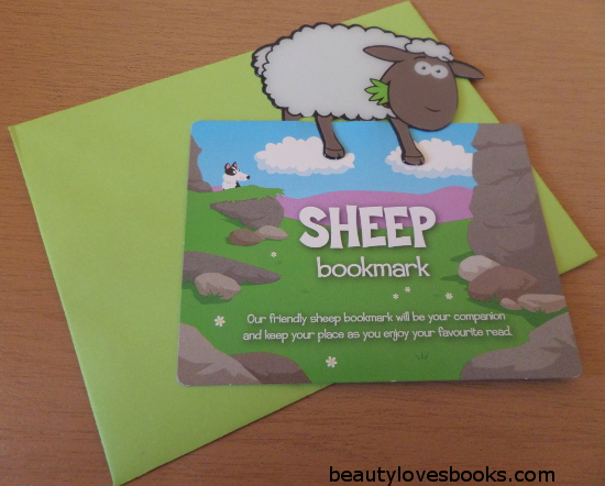 sheep bookmark for books