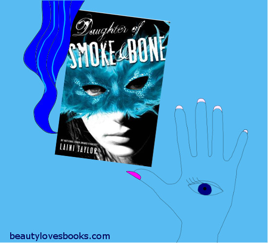 """Daughter of smoke and bone"" by  Laini Taylor book cover"