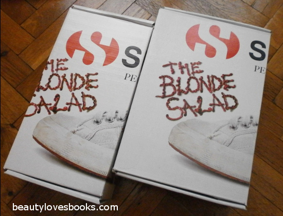 superga for the blonde salad boxes