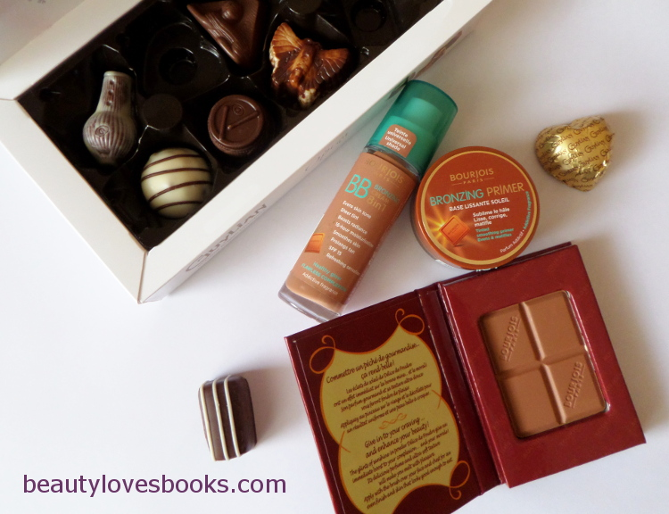 Bourjois bronzing BB cream, Bourjois bronzing primer and Bourjois chocolate powder bronzeing powder