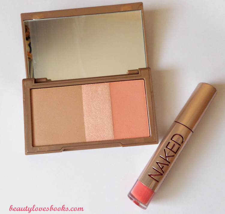 Urban Decay NAKED Flushed palette in Streak and Urban Decay Ultra Nourishing gloss in Streak