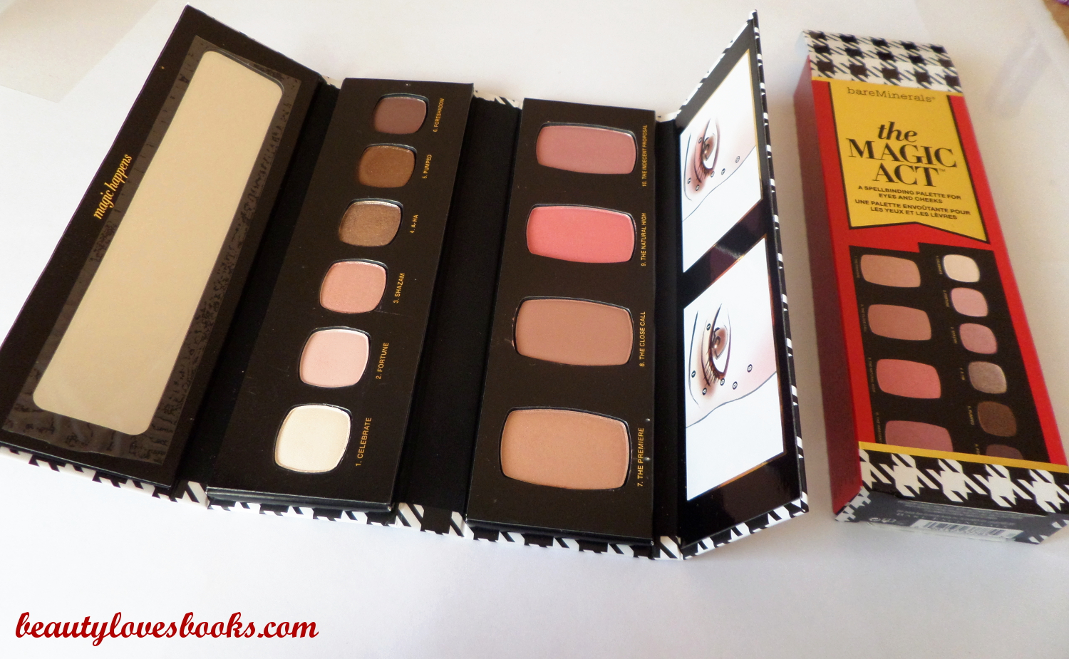 Bare minerals the magic act palette Christmas 2014