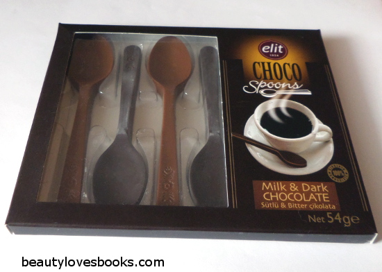 chocolate spoons for coffee