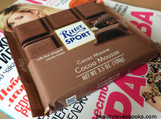 ritter chocolate Cocoa mousse