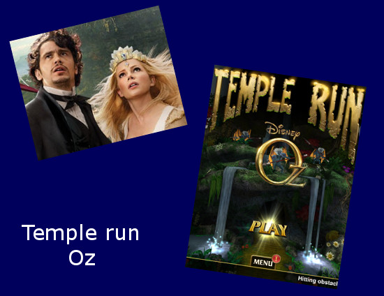 Temple run Oz app