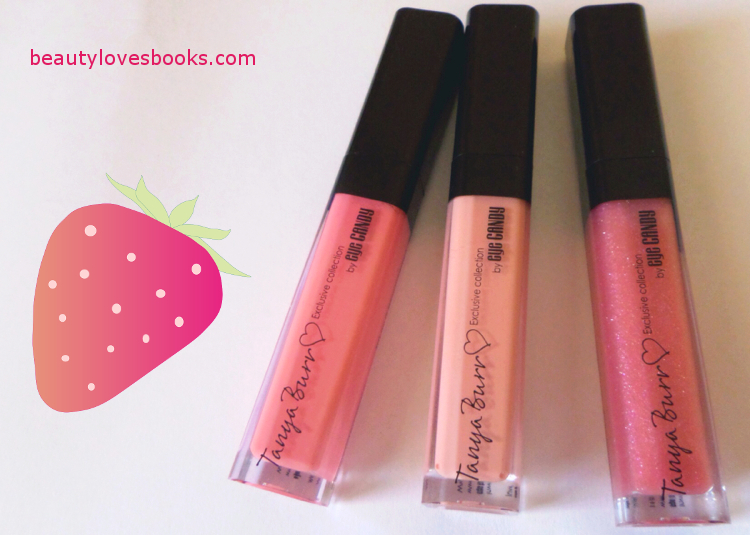 Tanya Burr lip glosses