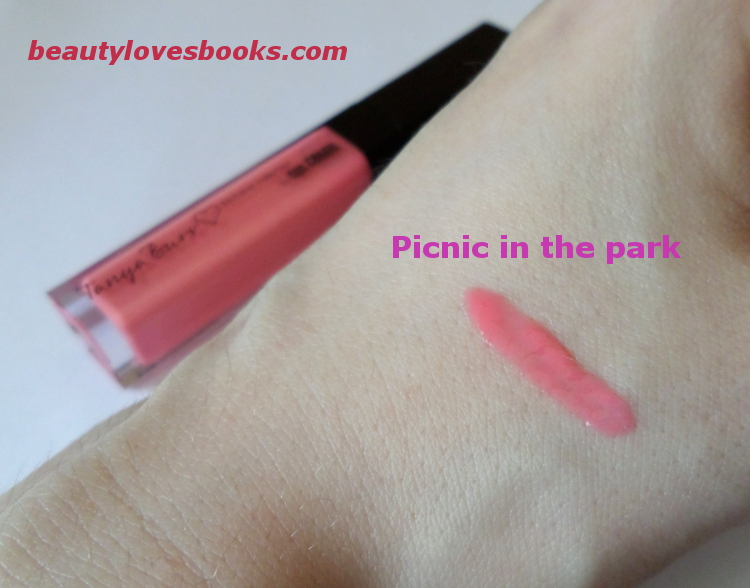 Tanya Burr lips&nails Picnic in the Park