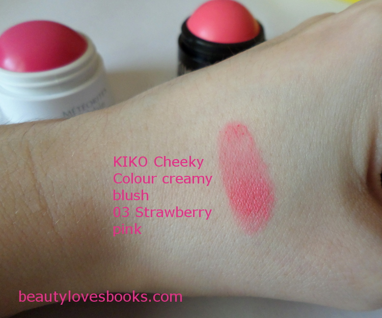 KIKO Cheeky colour creamy blush in 03 Strawberry pink