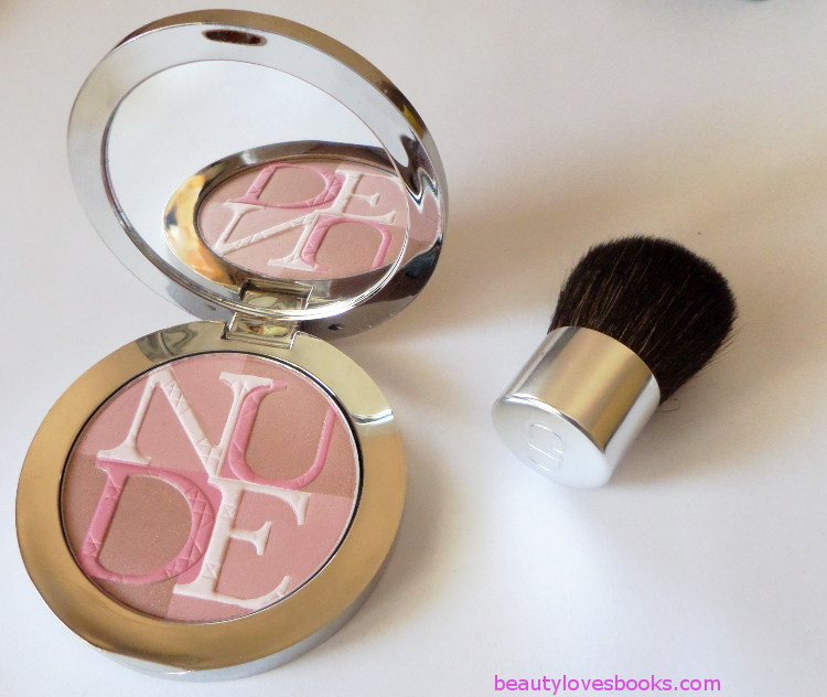 DIORSKIN NUDE SHIMMER instant illuminating powder in 001 Pink