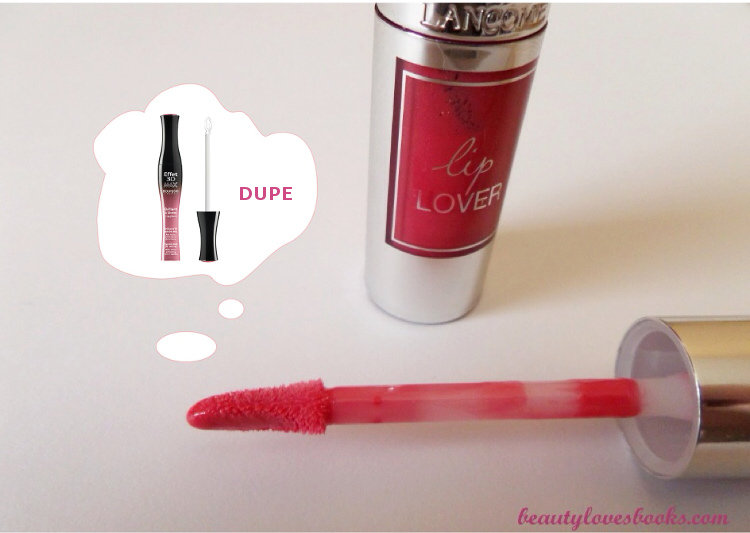 Lancome Lip Lover Rose des Nymphes Bourjois dupe