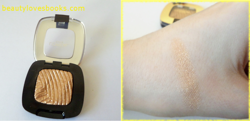 L'Oreal Color Riche mono eyeshadow in 500 Lumiere Gold mania