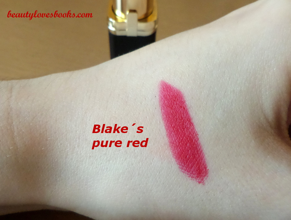 L'Oreal collection Exclusive by Blake Blake's pure red swatch