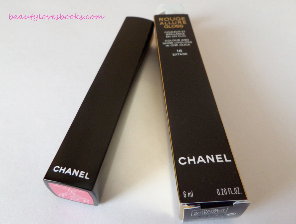 Chanel Rouge Allure gloss in 16 Extase