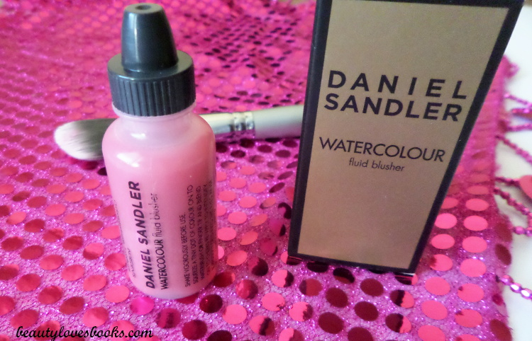 Daniel Sandler Watercolour fluid blusher in So pretty and Waterbrush