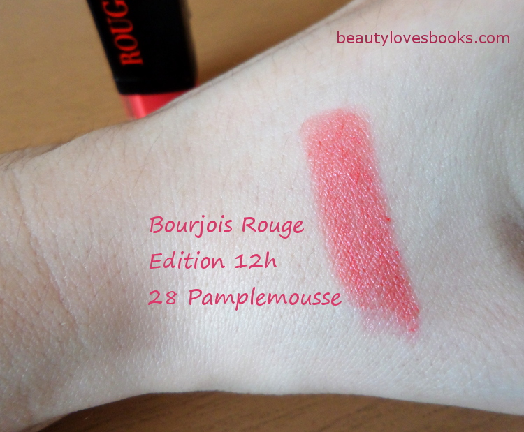 Bourjois Rouge Edition 12h lipstick in 28 Pamplemousse