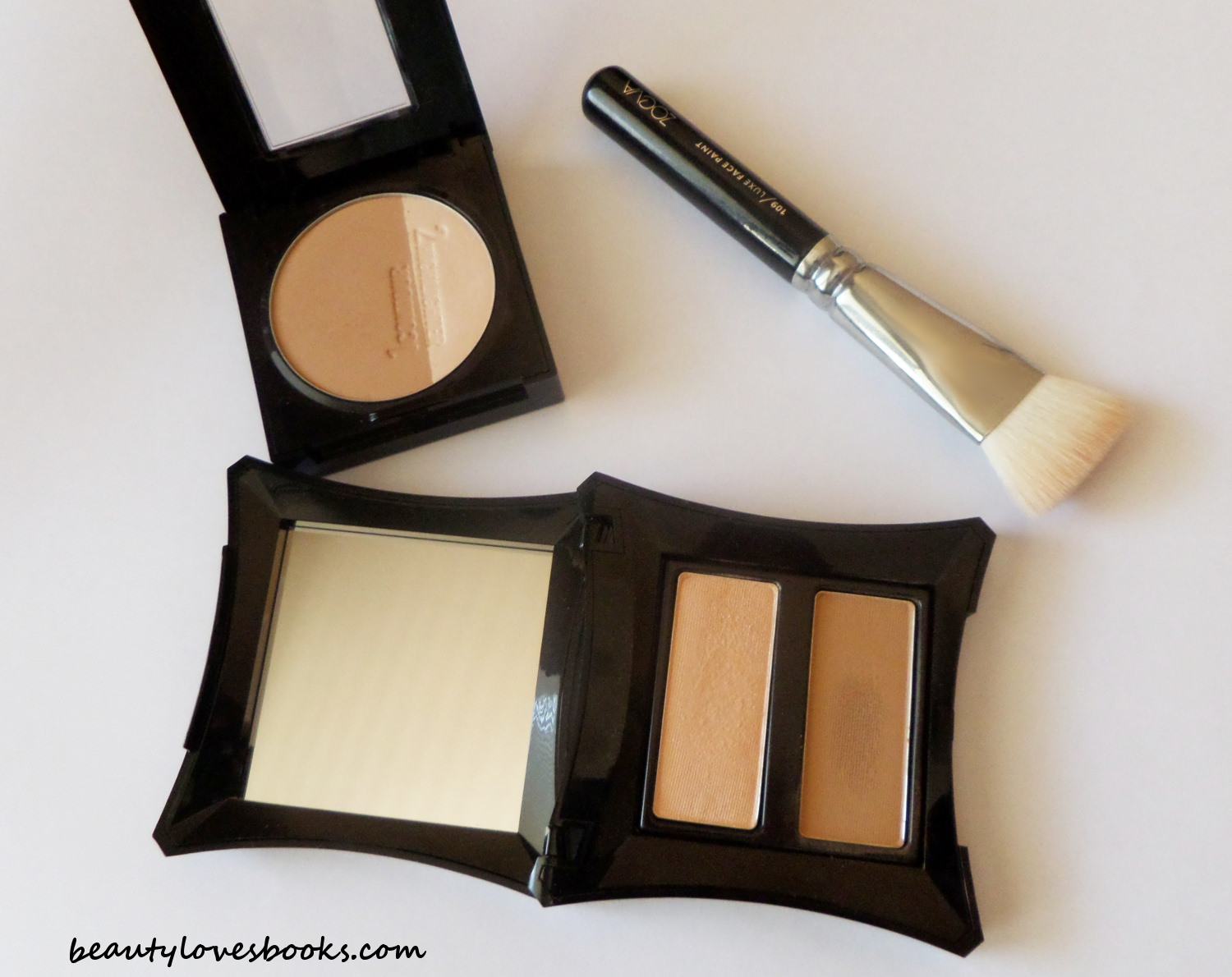 Maybelline Master Sculpt contouring palette and Illamasqua contouring duo