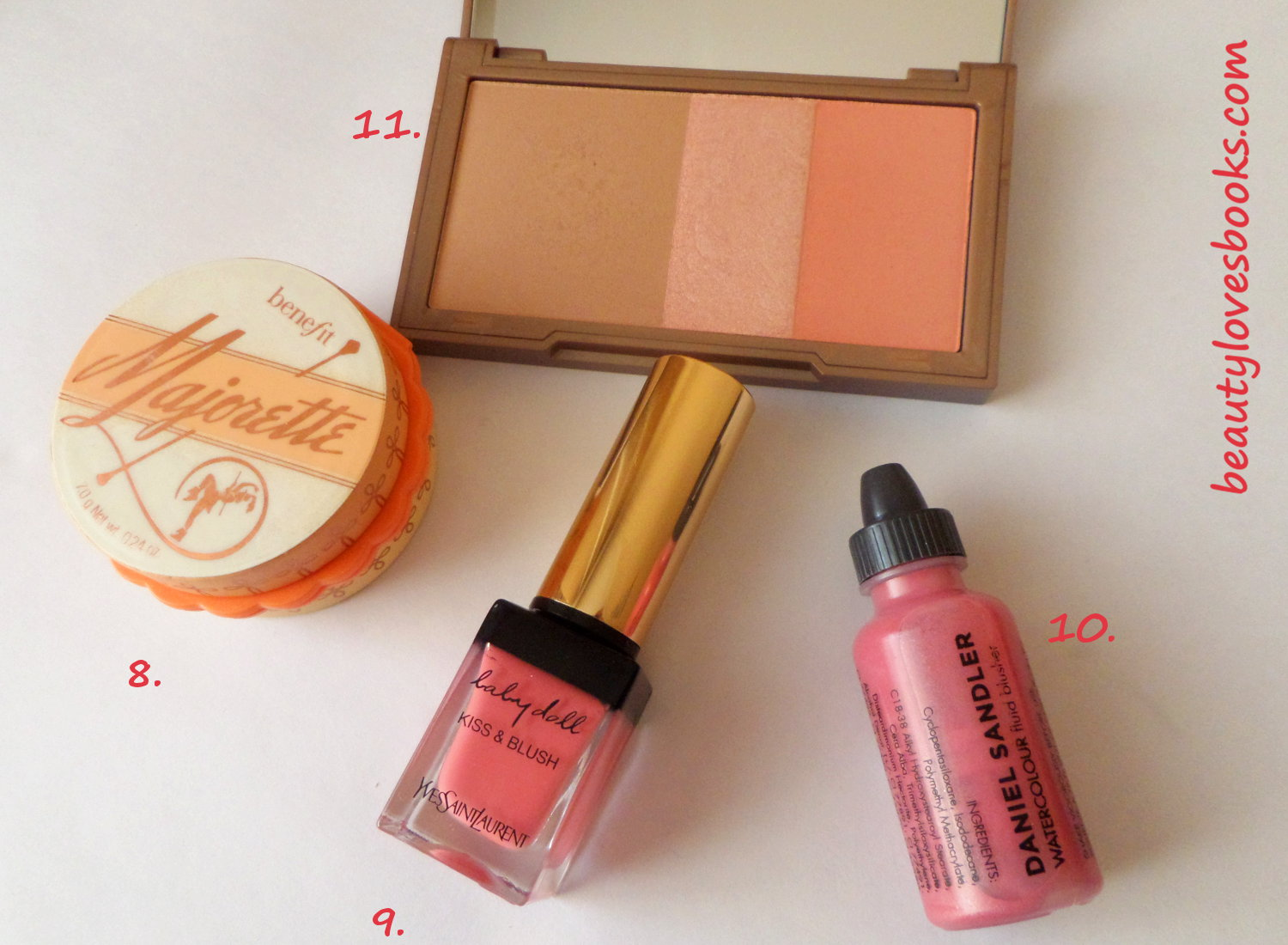 benefit majorette blush, UD Naked flushed palette