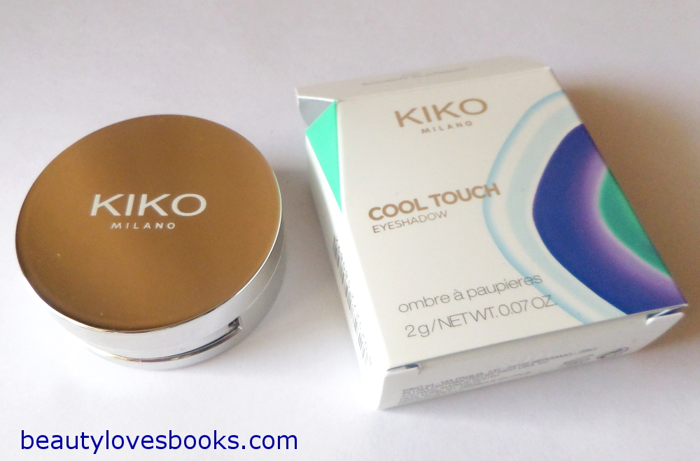 KIKO Cool Touch eyeshadow in the shade 05 Sought platinum
