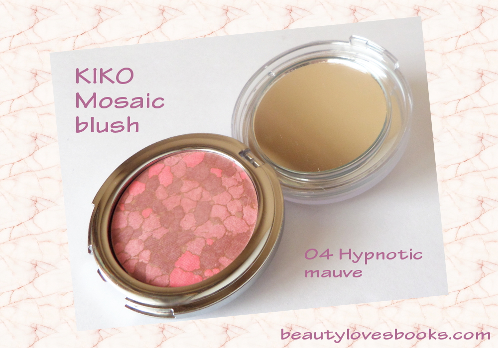 KIKO Mosaic blush in 04 Hypnotic mauve