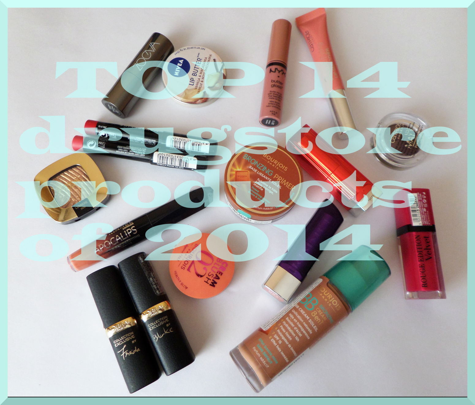 top 14 drugsore beauty products of 2014