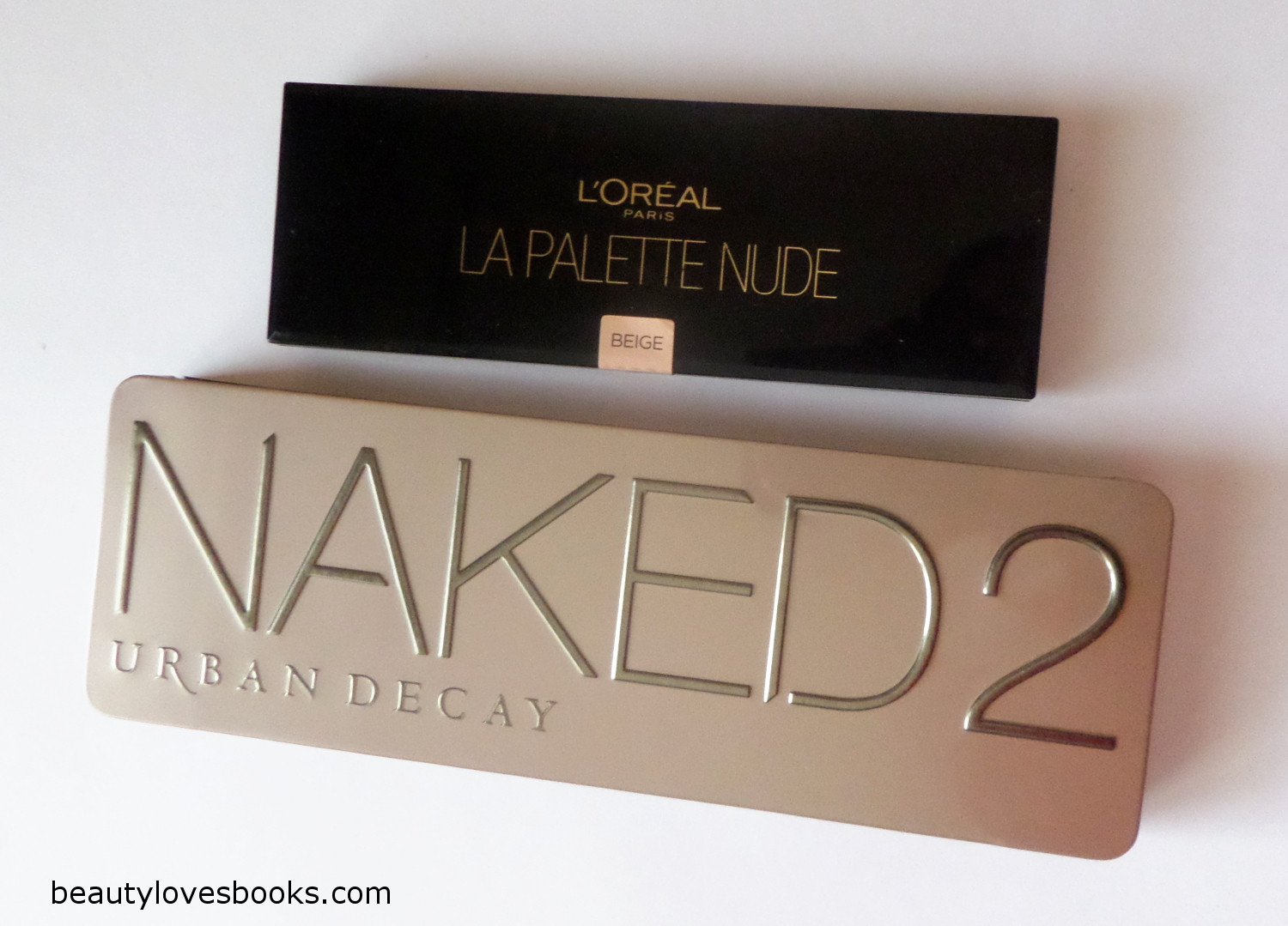 L'Oreal La palette nude Beige and NAKED 2