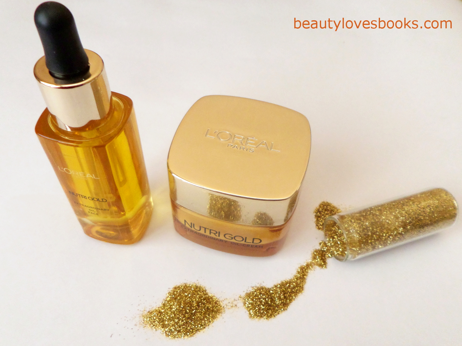 L'oreal Nutri Gold extraordinary face oil and oil-cream