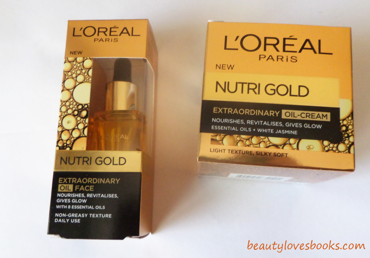 L'oreal Nutri Gold oil and oil-cream