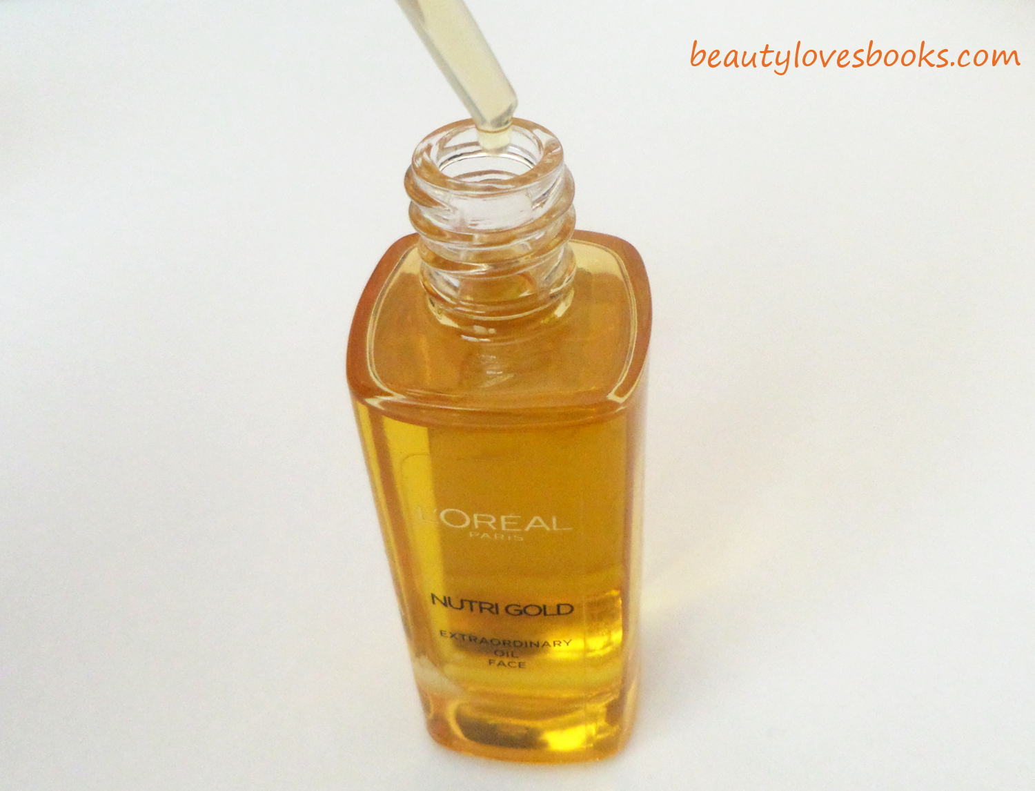 L'oreal Nutri Gold oil