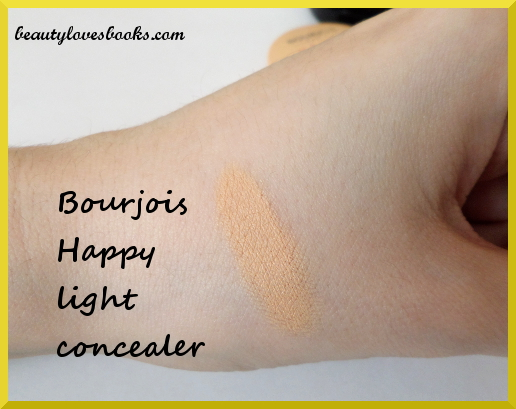 Bourjois Happy light Ultra-covering concealer swatch