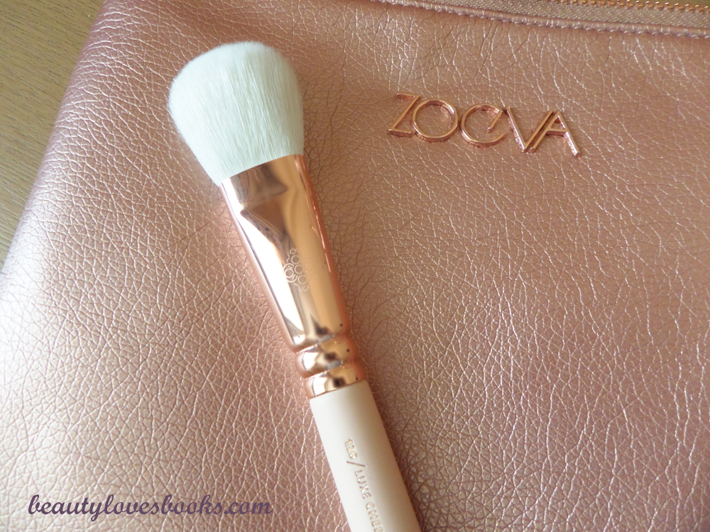 126/Luxe cheek finish Четките Zoeva Rose Golden luxury set vol. 2
