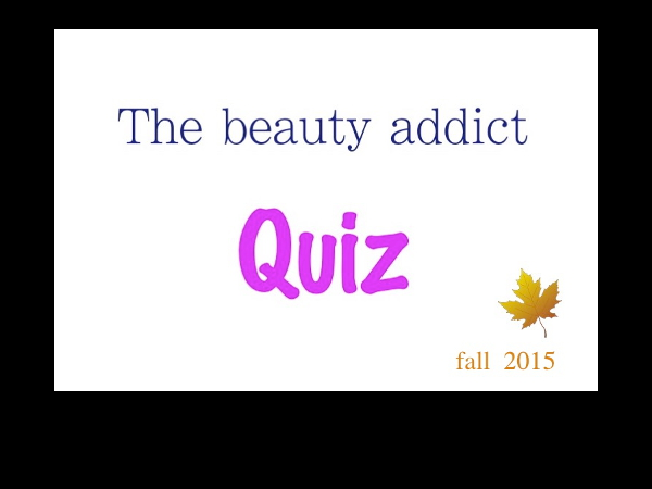 The beauty quiz
