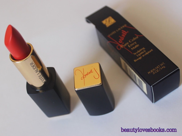 The Kendall Jenner lipstick: Estée Lauder Pure Color Envy Matte lipstick in the shade Restless