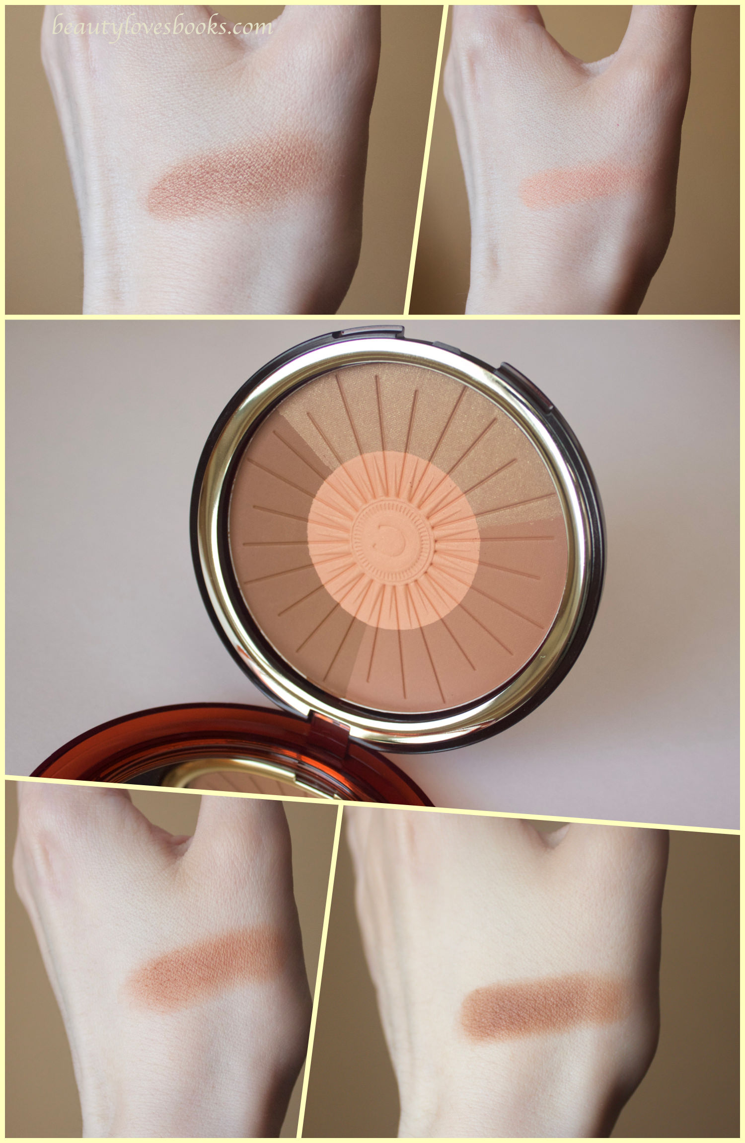 Clarins Summer 2016 Bronzing & Blush Compact swatches