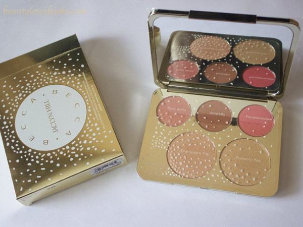 Becca X Jaclyn Hill Champagne collection face palette