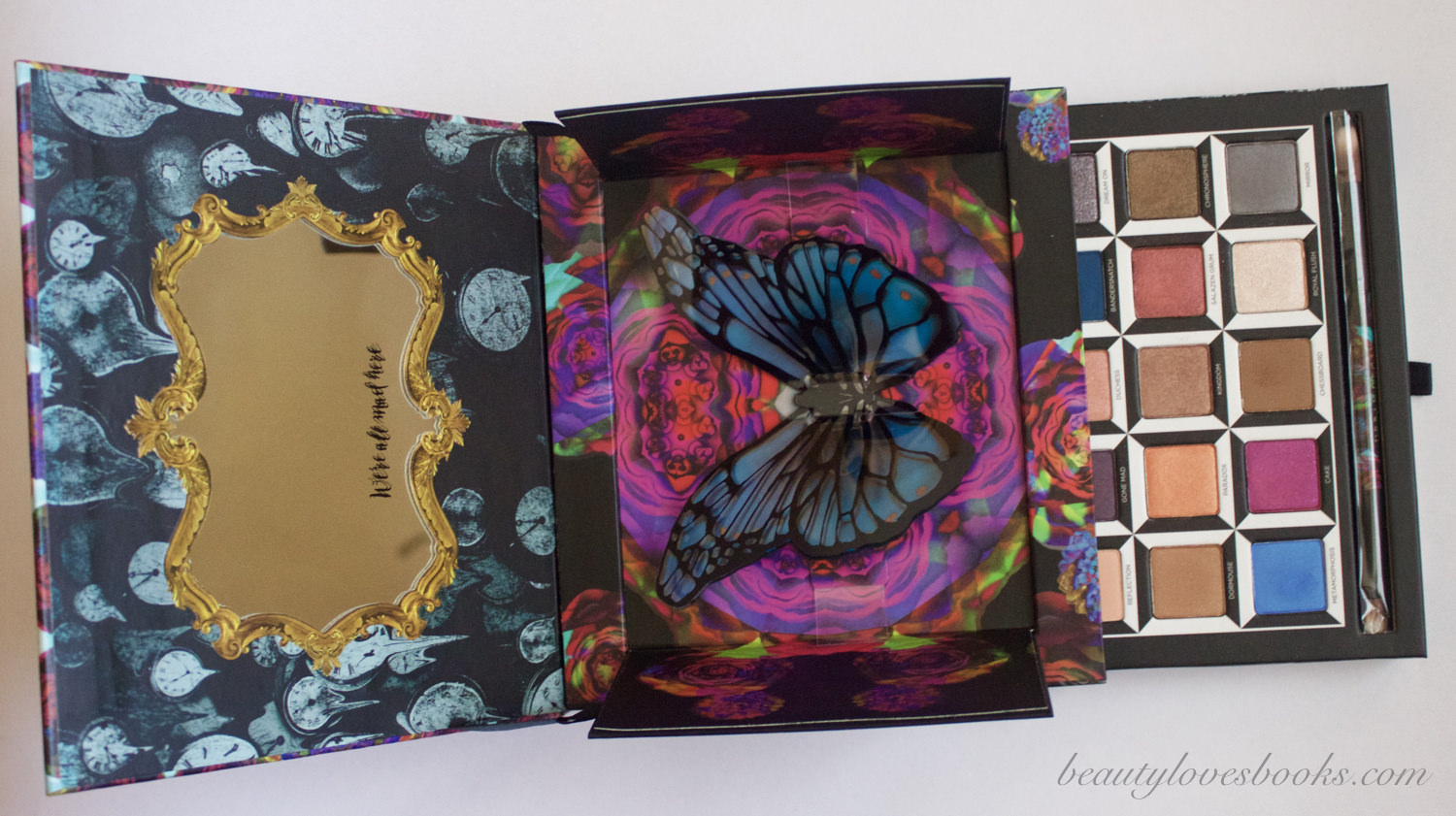 Urban Decay X Alice through the looking glass eyeshadow palette