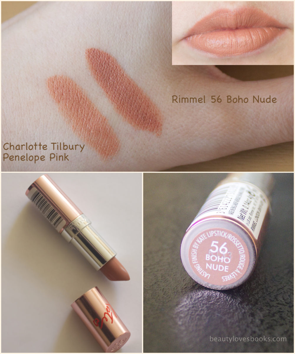 Rimmel 15th Anniversary Collection Lasting Finish lipsticks by Kate 56 Boho Nude