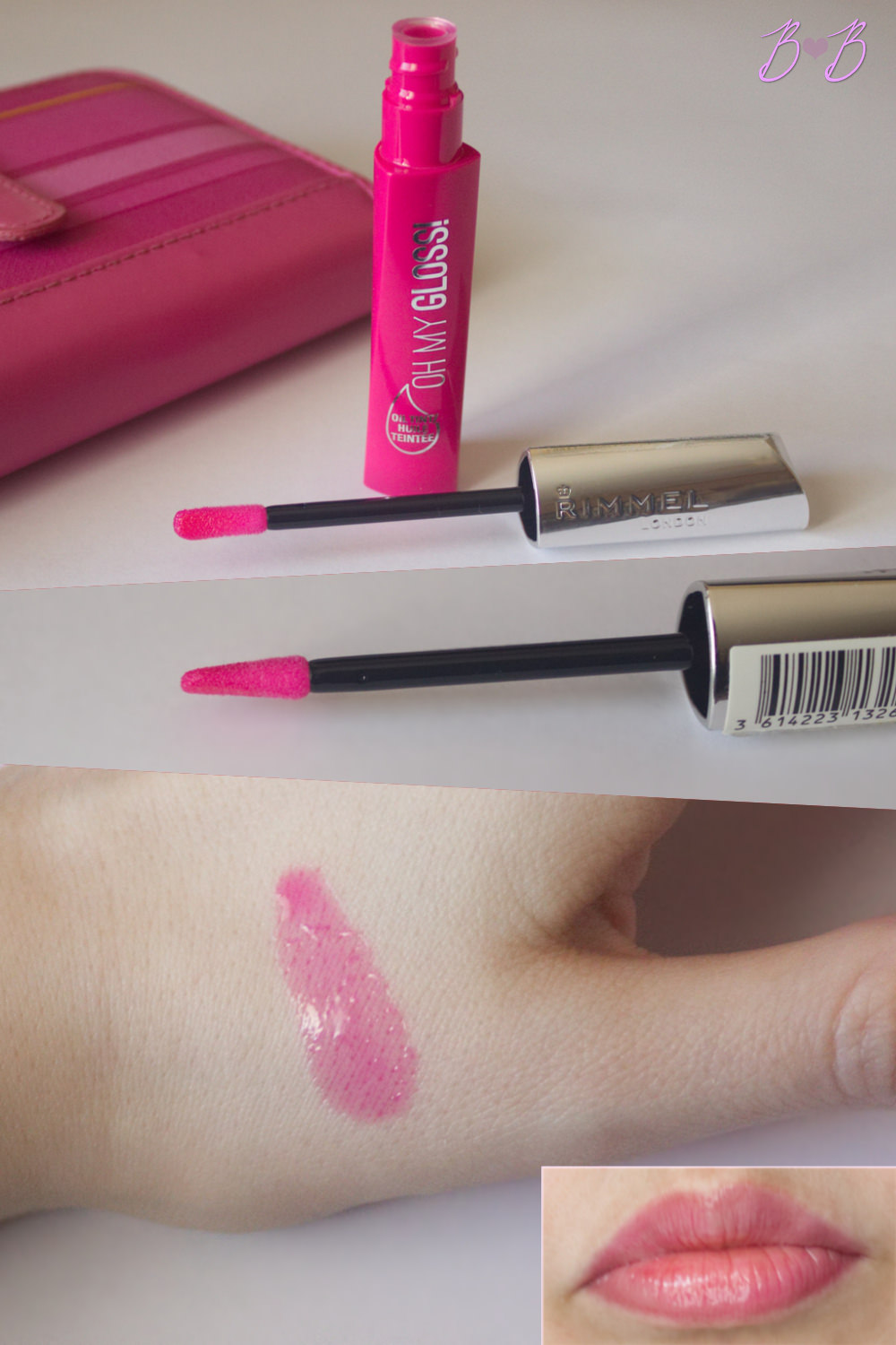 Rimmel Oh my gloss! oil tint in 300 Modern pink сватцхес