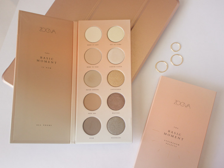 Zoeva The basic moment palette
