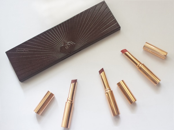 Charlotte Tilbury Superstar lips in the shades Pillow talk, Walk of Shame and Happy lips