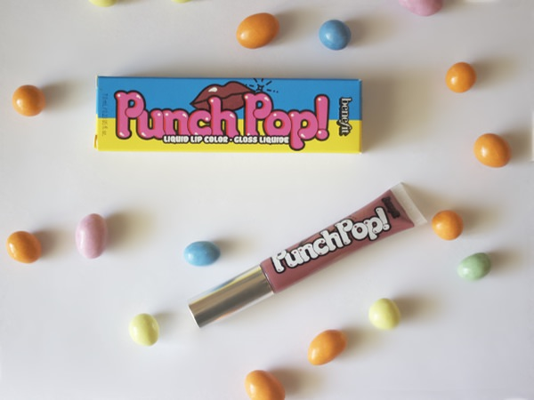 Benefit Punch Pop lip colour in the shade Pink-berry